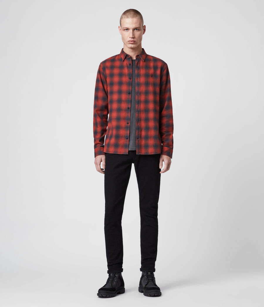 Men's Catalpa Shirt (oxide_red) - Image 3