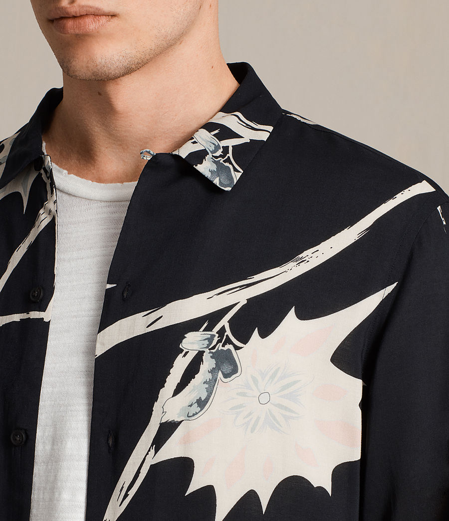 Men's Mokapu Shirt (jet_black) - Image 2