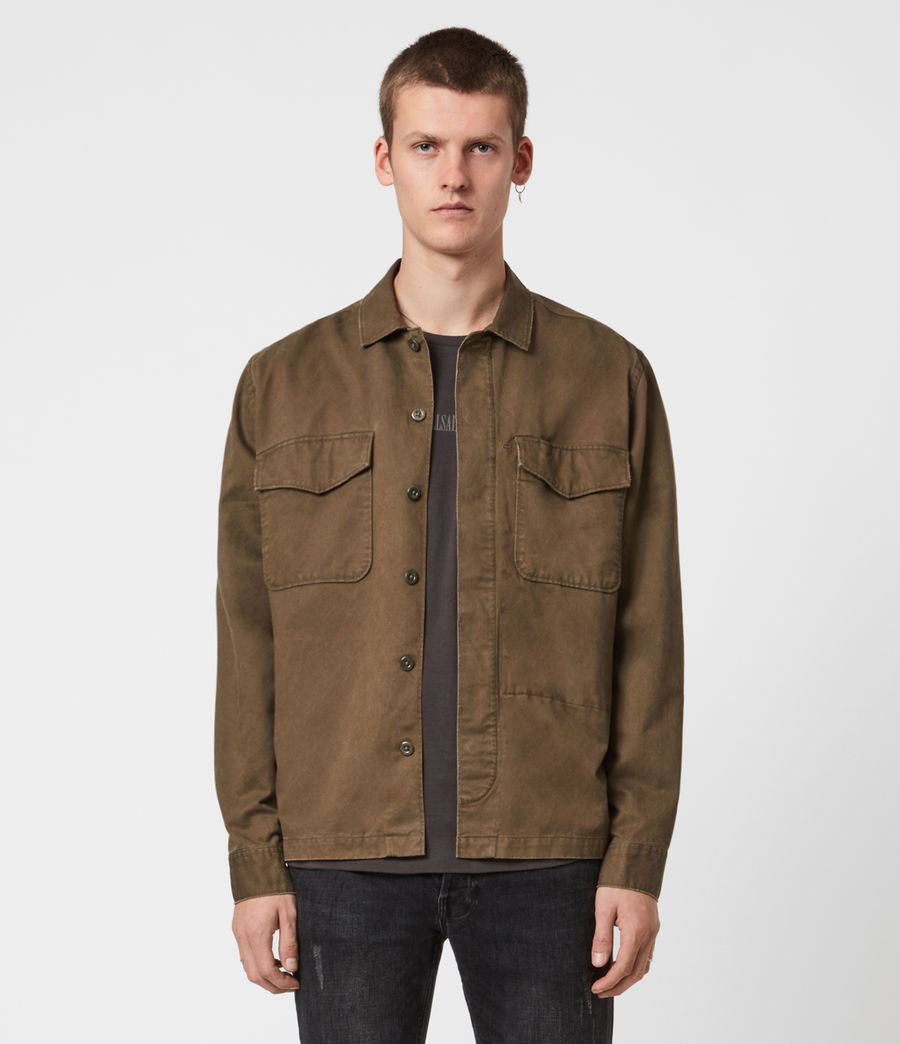 Mens Warrant Shirt (army_green) - Image 1