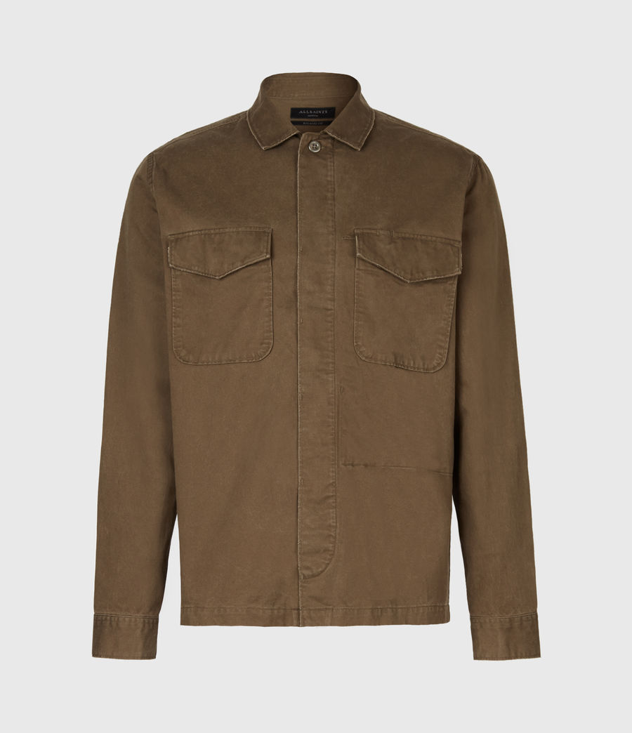 Mens Warrant Shirt (army_green) - Image 2