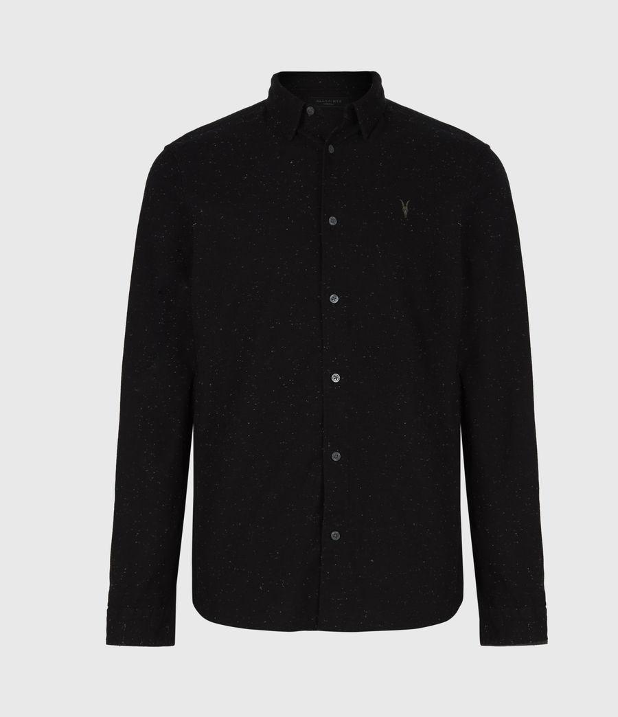 Mens Petrel Shirt (black_white) - Image 2