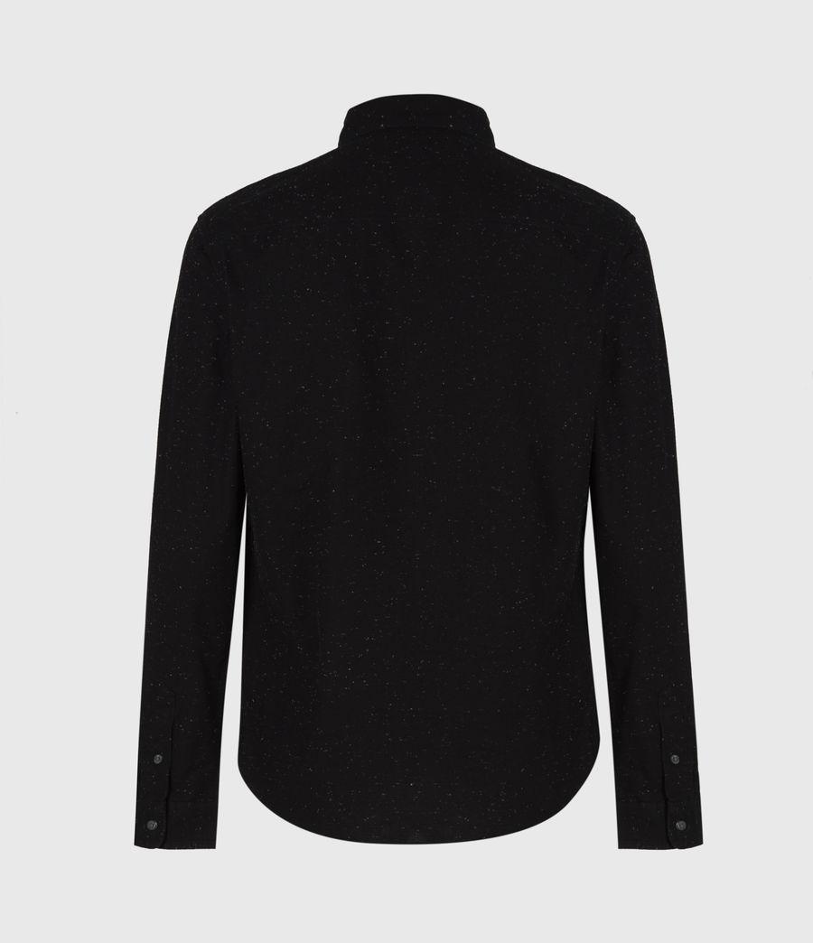 Mens Petrel Shirt (black_white) - Image 3