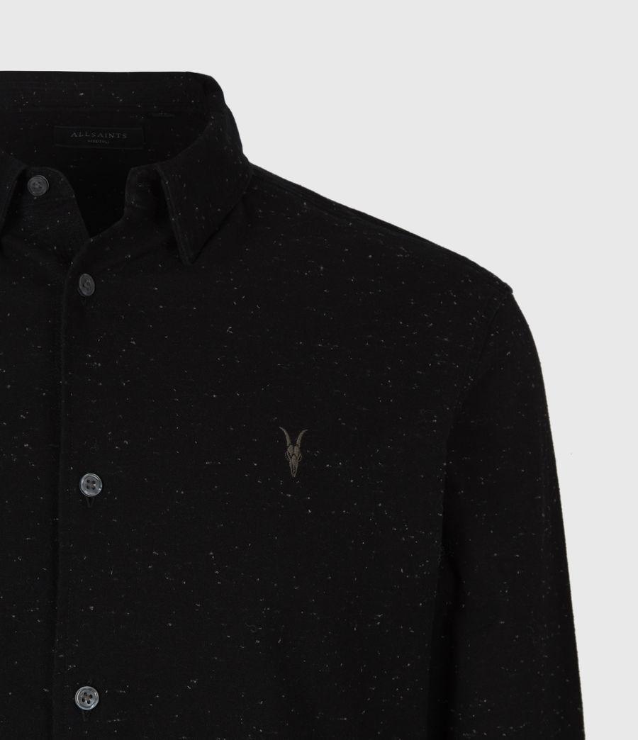 Mens Petrel Shirt (black_white) - Image 5