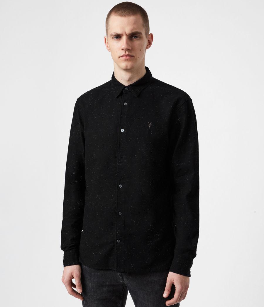 Mens Petrel Shirt (black_white) - Image 7