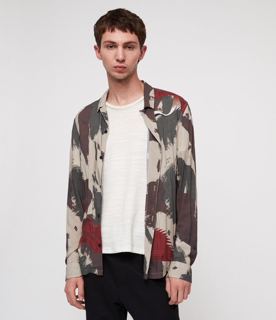 Men's Lucerne Shirt (camo) - Image 1