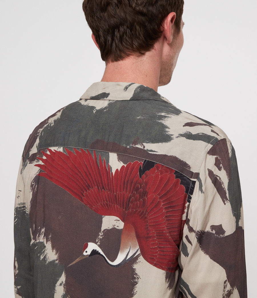 Men's Lucerne Shirt (camo) - Image 2