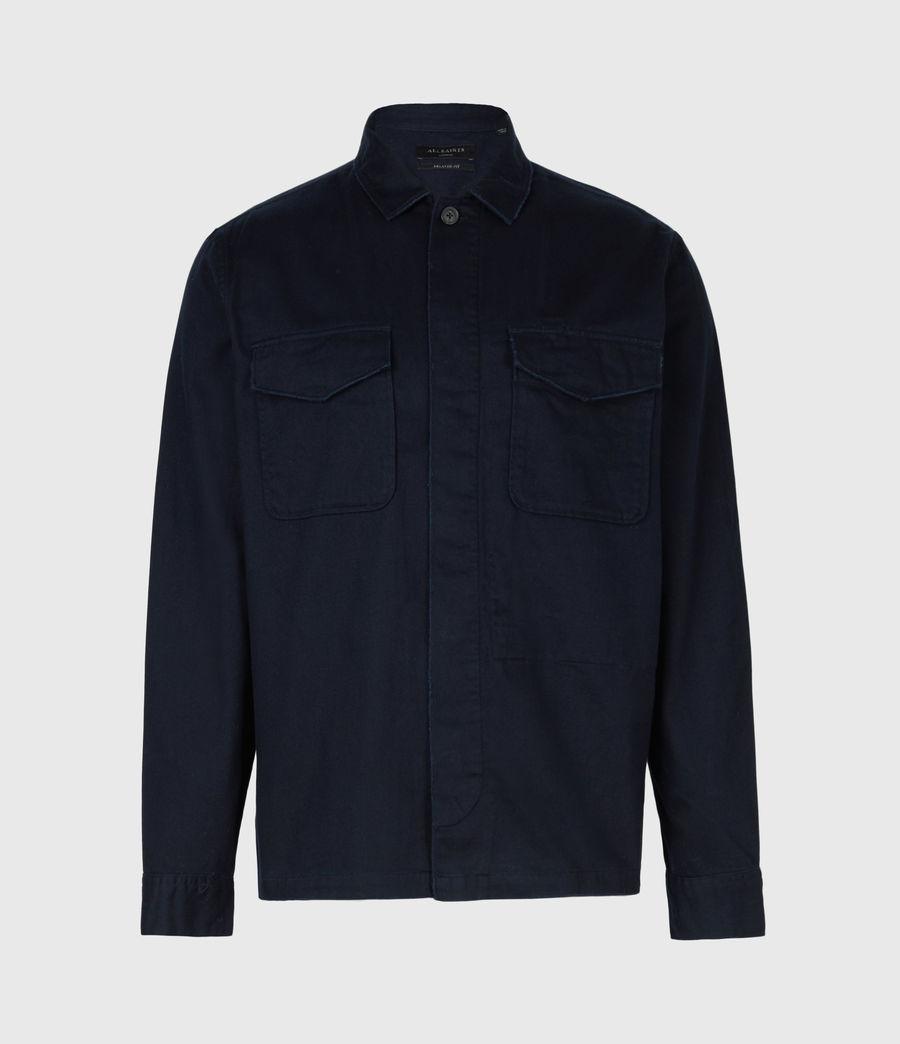Mens Adjutant Shirt (dark_ink) - Image 2
