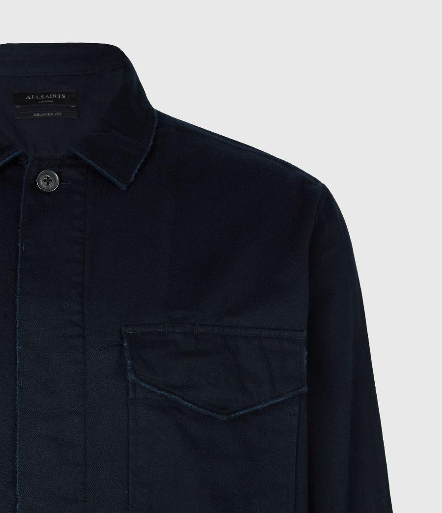 Mens Adjutant Shirt (dark_ink) - Image 5