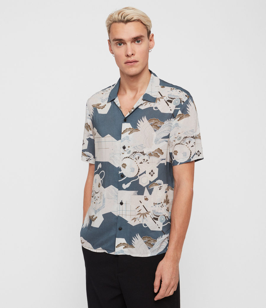 Men's Kahana Shirt (blue) - Image 1
