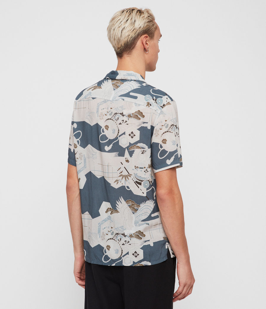 Men's Kahana Shirt (blue) - Image 4