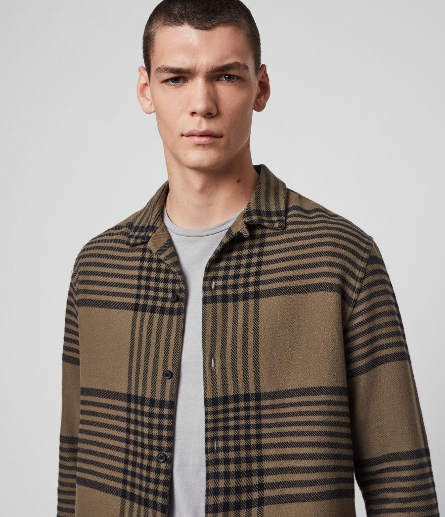 Mens Modello Shirt (khaki) - Image 2