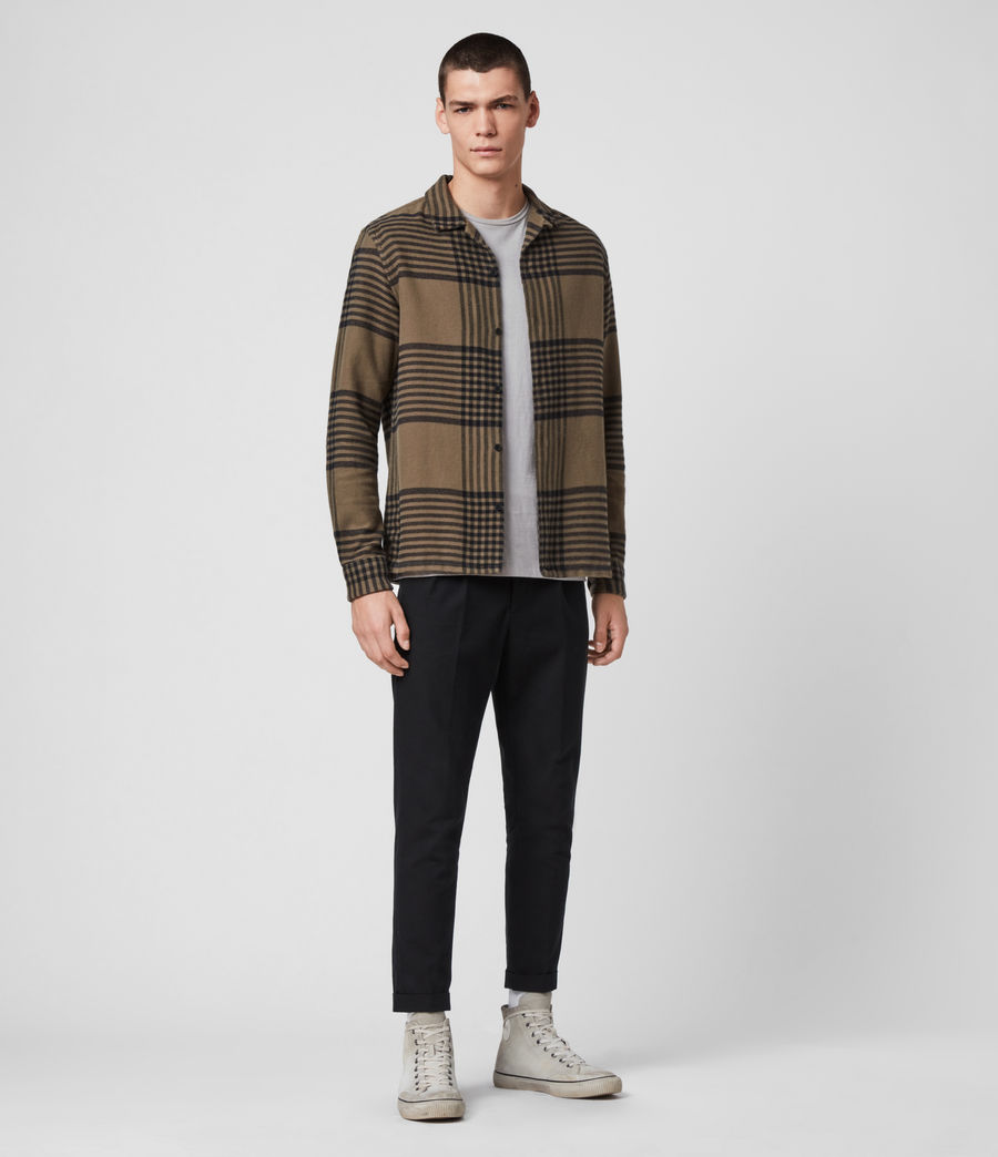 Mens Modello Shirt (khaki) - Image 3