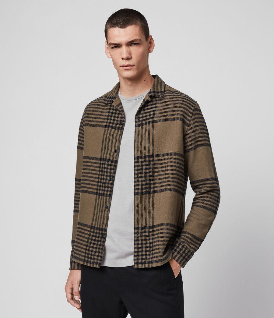 Mens Modello Shirt (khaki) - Image 4