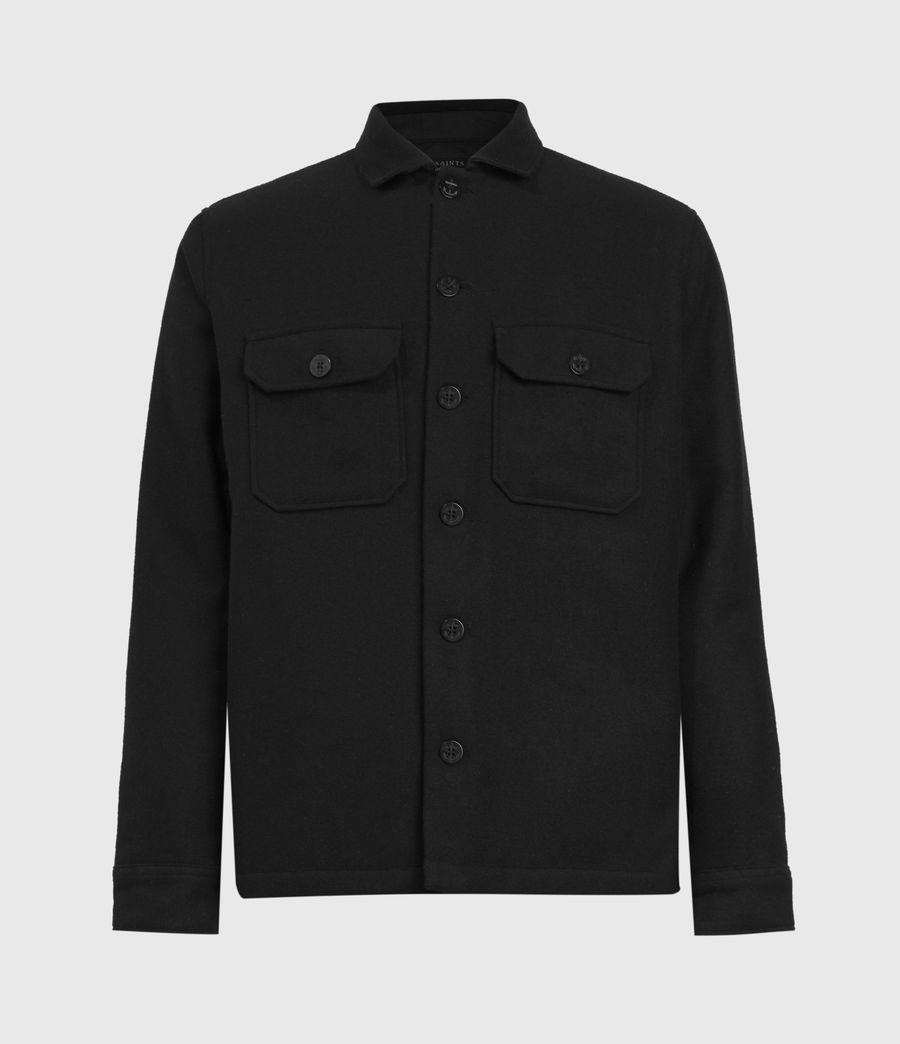 Men's Potomac Wool Blend Shirt (jet_black) - Image 2