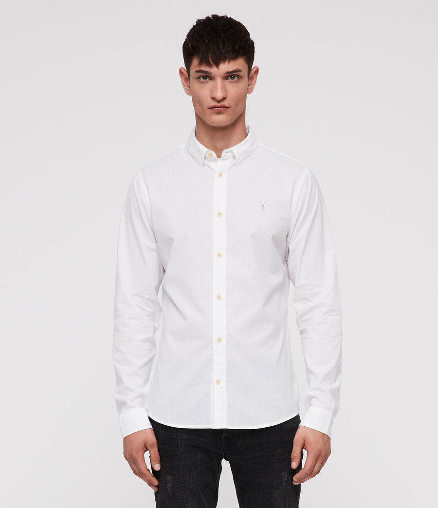 Mens Fuller Shirt (white) - Image 1