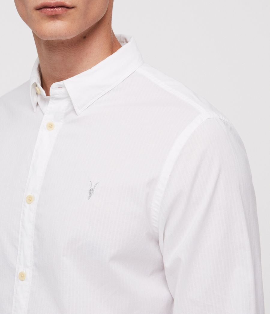 Mens Fuller Shirt (white) - Image 2