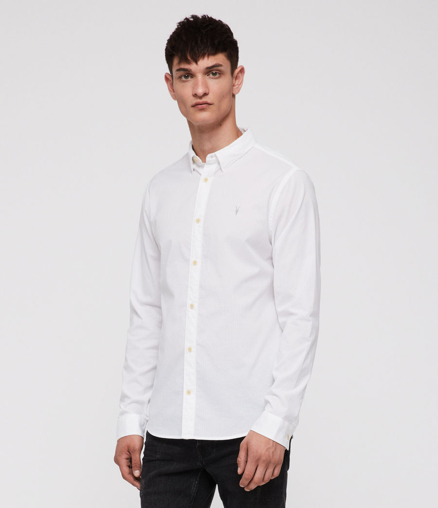 Mens Fuller Shirt (white) - Image 3