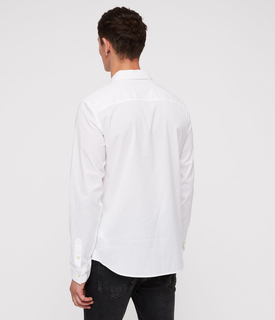 Mens Fuller Shirt (white) - Image 4