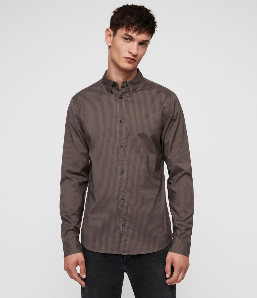 Men's Fuller Shirt (core_grey) - Image 1