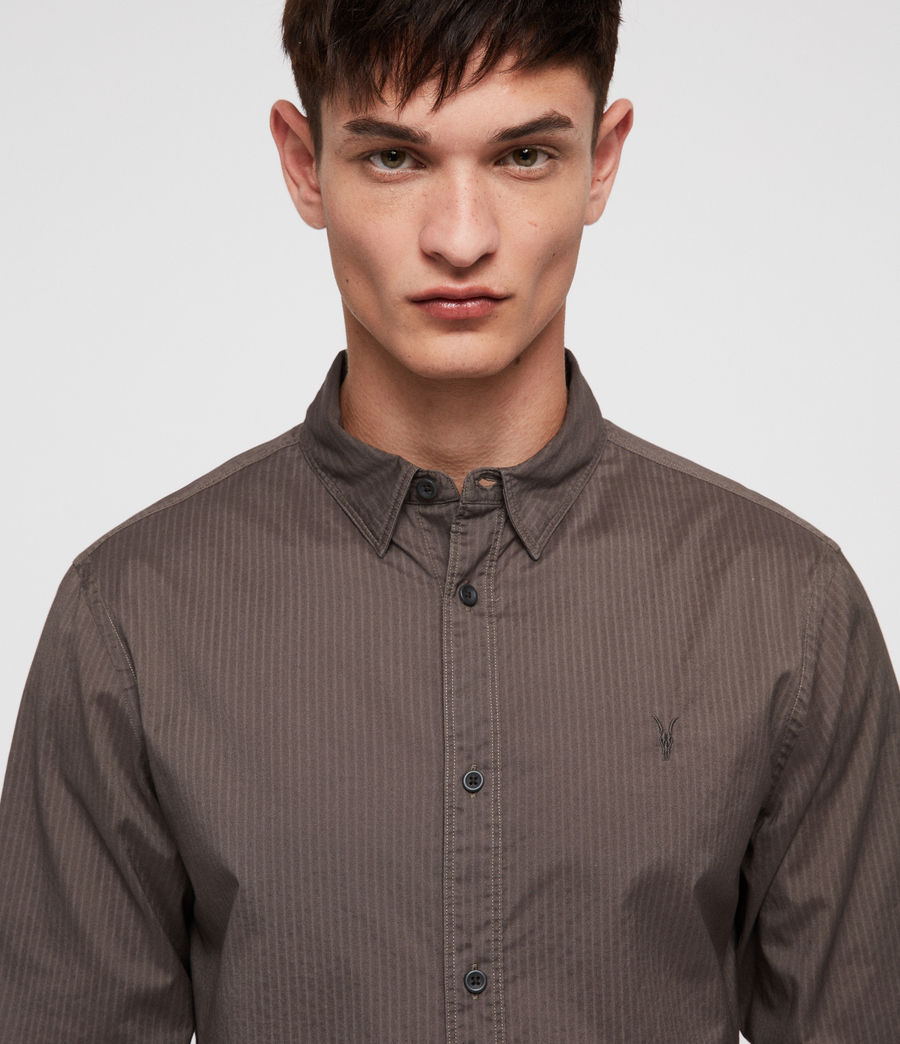 Men's Fuller Shirt (core_grey) - Image 2