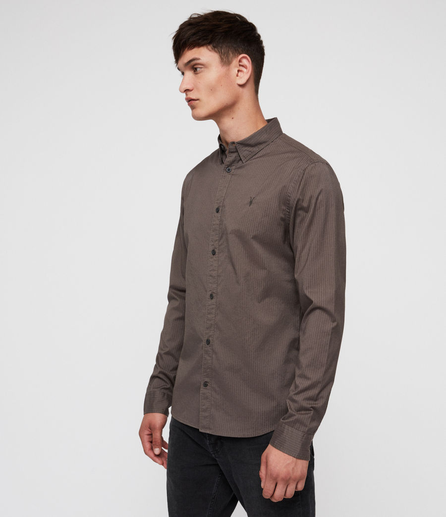 Men's Fuller Shirt (core_grey) - Image 3