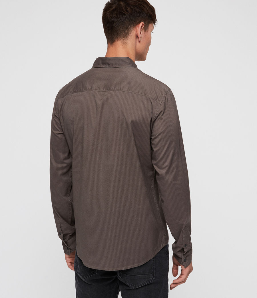 Men's Fuller Shirt (core_grey) - Image 4