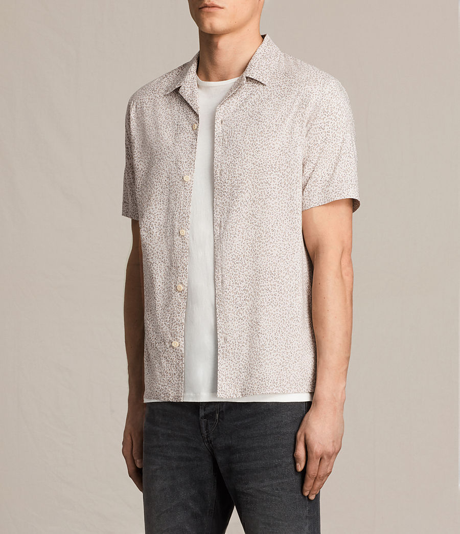 Mens Wasco Short Sleeve Shirt (rose_grey) - Image 3