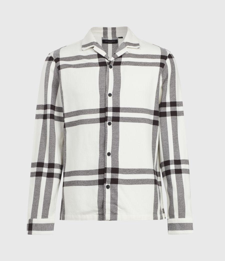 Mens Anchorage Shirt (white_black) - Image 2