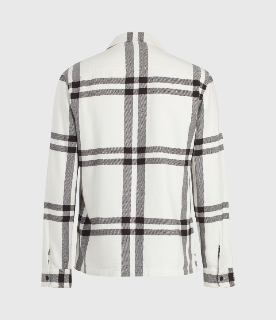 Mens Anchorage Shirt (white_black) - Image 3