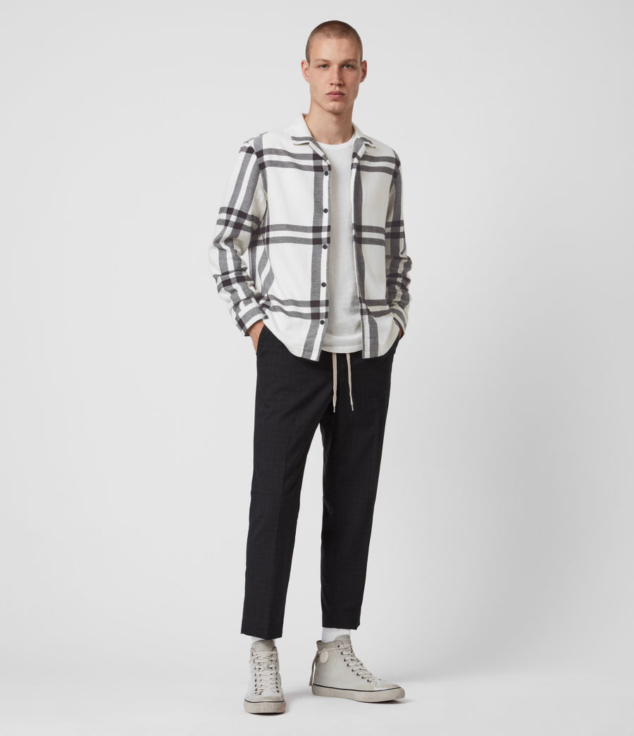 Mens Anchorage Shirt (white_black) - Image 4