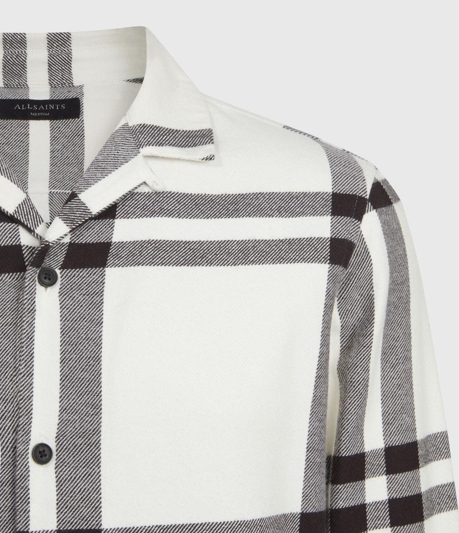 Mens Anchorage Shirt (white_black) - Image 5