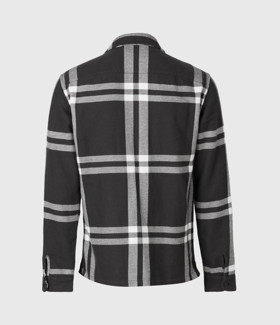 Herren Anchorage Longsleeve Hemd (black_white) - Image 3