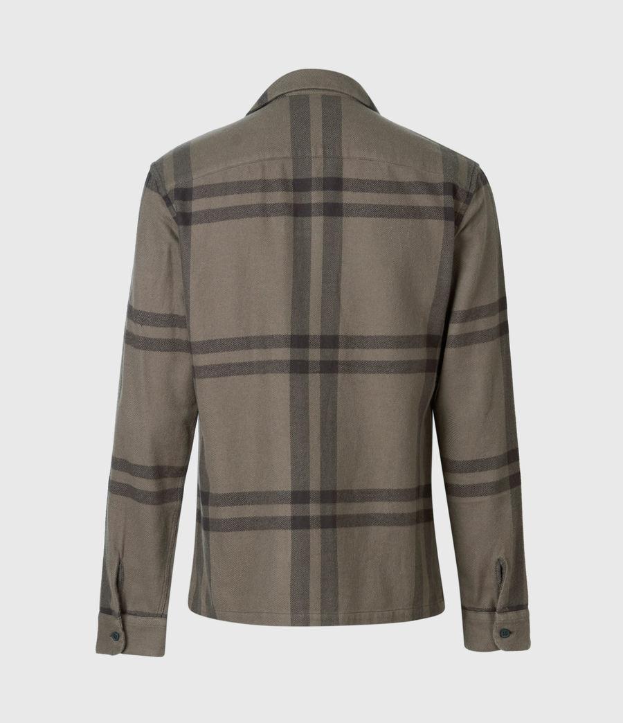 Mens Anchorage Shirt (dark_khaki_black) - Image 3