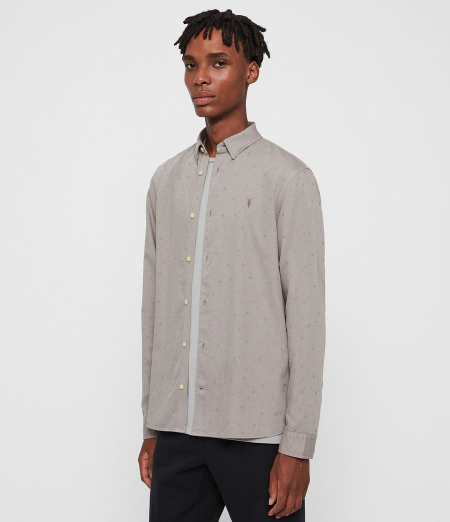 Men's Cosmo Shirt (cement_grey) - Image 4