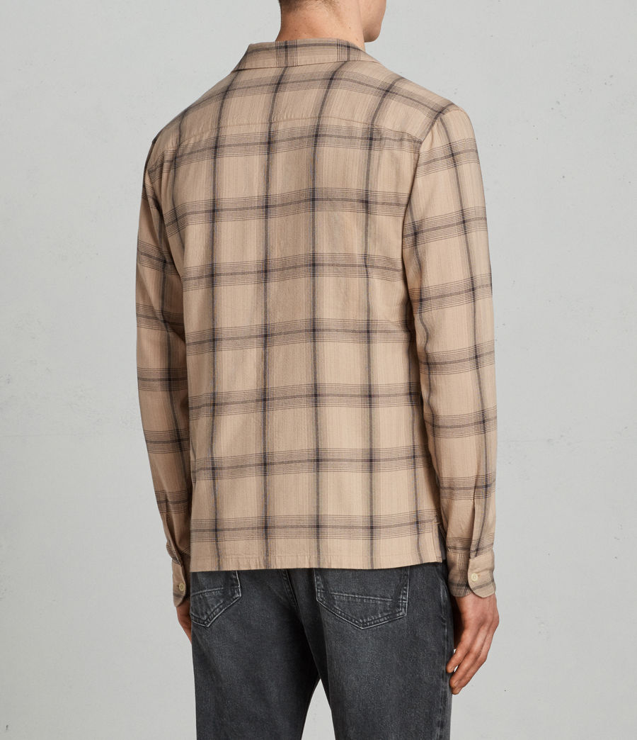 Uomo Camicia Velcoro (thorn_pink) - Image 5