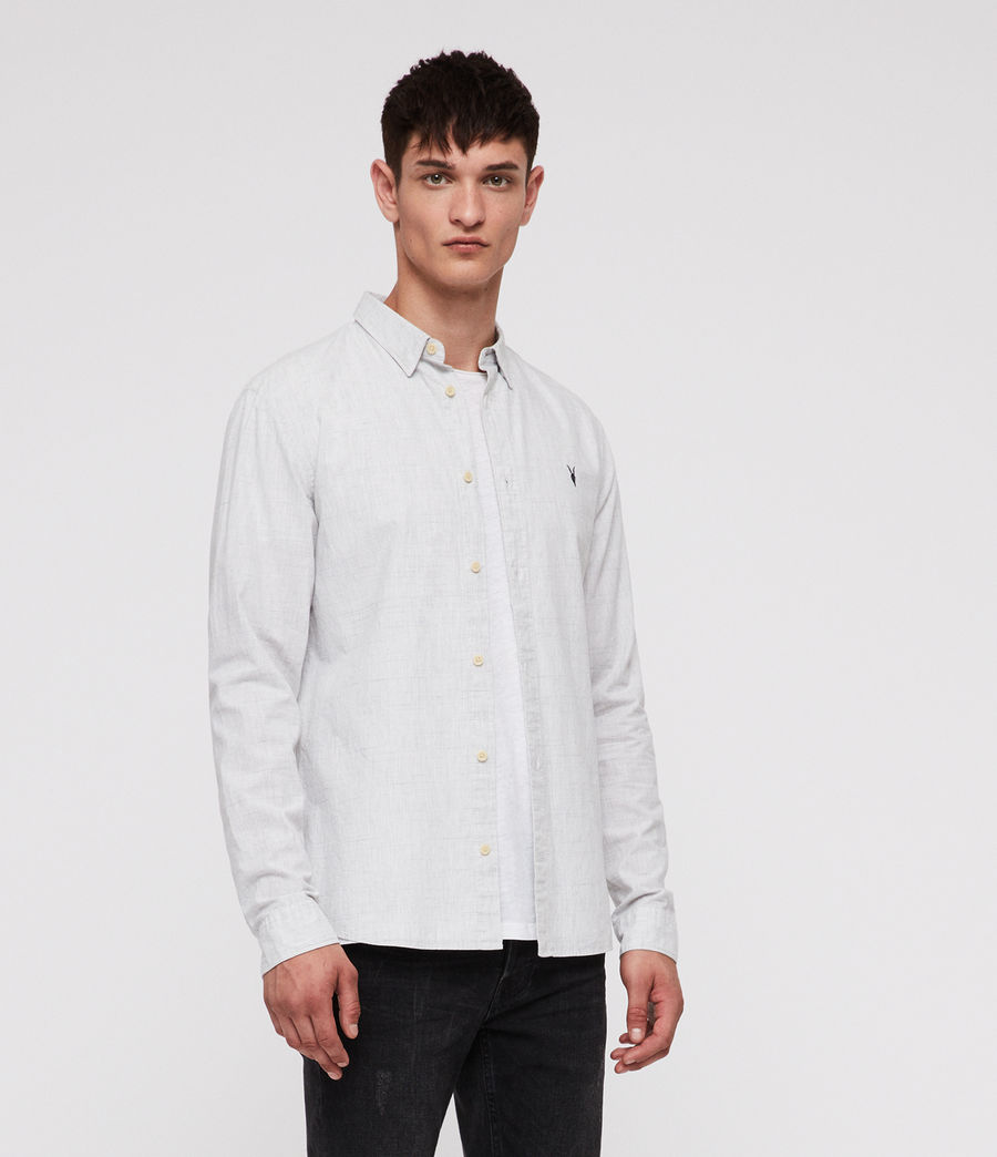 Men's Colton Shirt (light_grey) - Image 1
