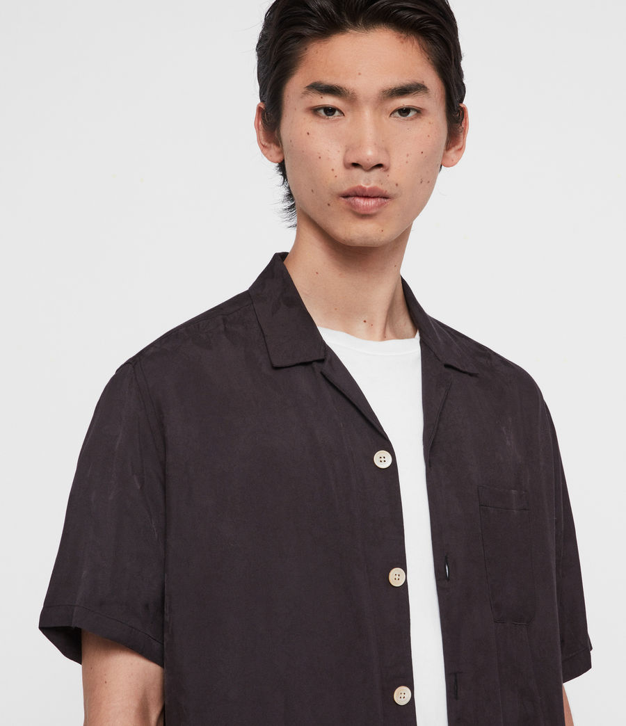 Hombre Camisa de Manga Corta Florette (cave_grey) - Image 2