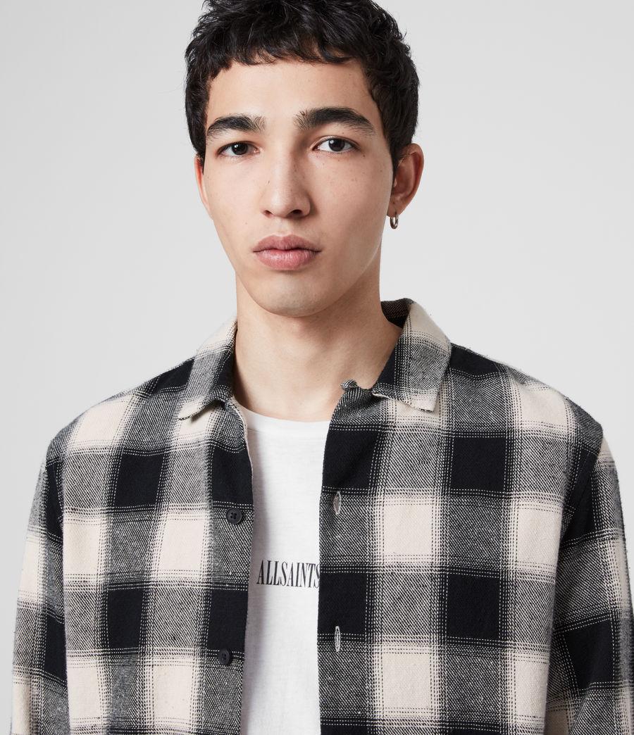 Mens Alamosa Shirt (black_white) - Image 2