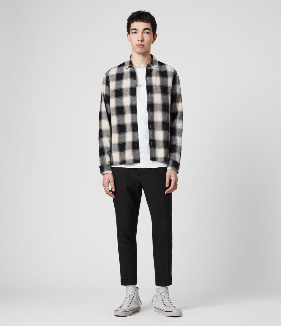 Mens Alamosa Shirt (black_white) - Image 3