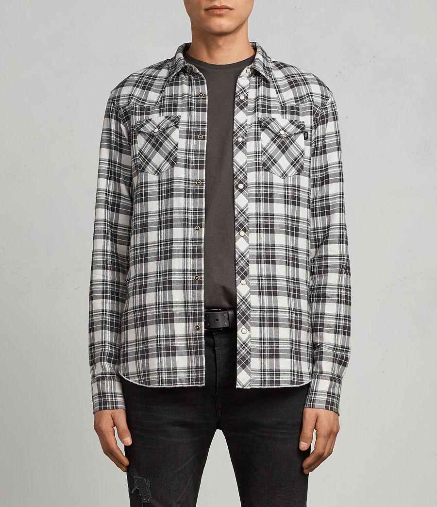 Hombres Camisa Blackroad (ecru_white) - Image 1