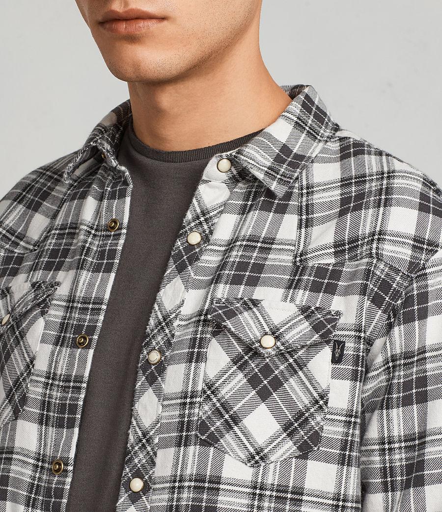 Hombres Camisa Blackroad (ecru_white) - Image 2