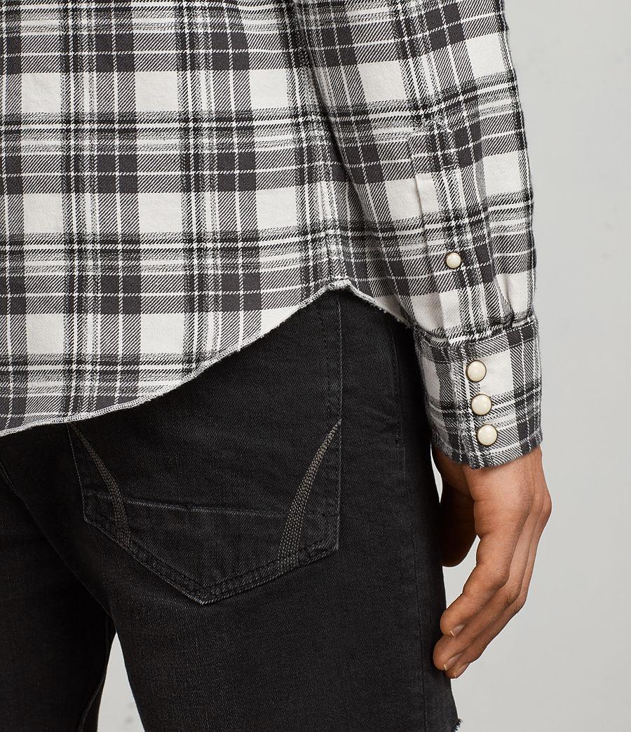 Hombres Camisa Blackroad (ecru_white) - Image 4