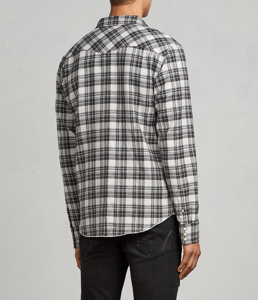 Hombres Camisa Blackroad (ecru_white) - Image 5