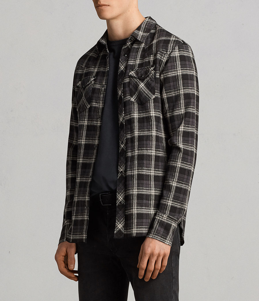 Mens Blackroad Shirt (black) - Image 3