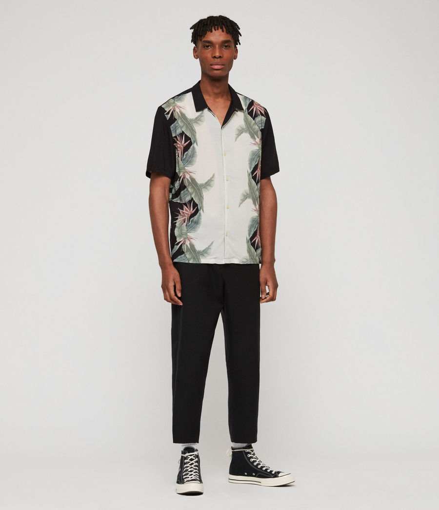 Men's Trellis Shirt (jet_black) - Image 2