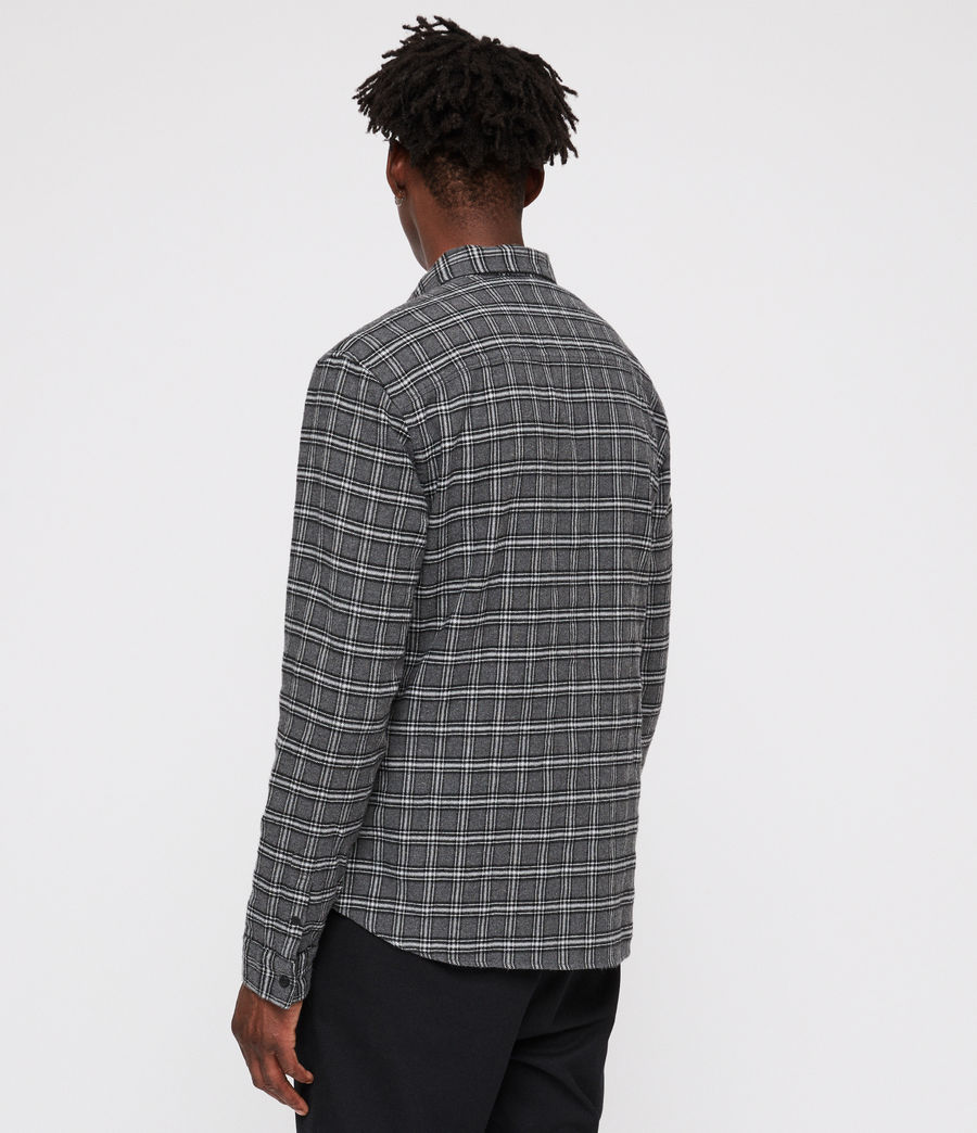 Men's Amos Shirt (grey_marl) - Image 4