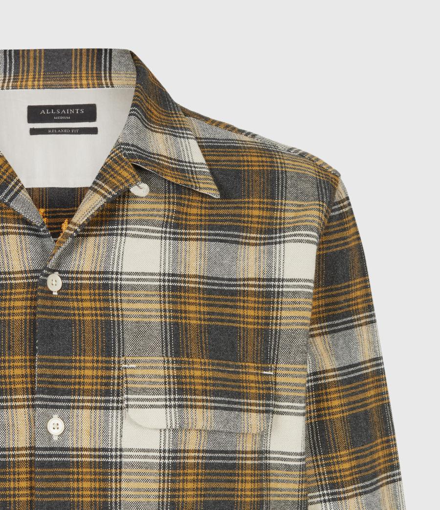 Mens Infernus Shirt (ecru_yellow) - Image 5