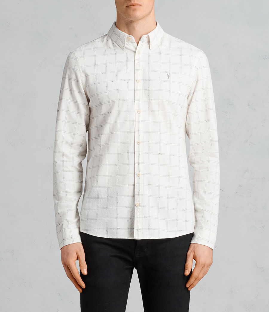 Men's Rowhill Shirt (chalk_white) - Image 1