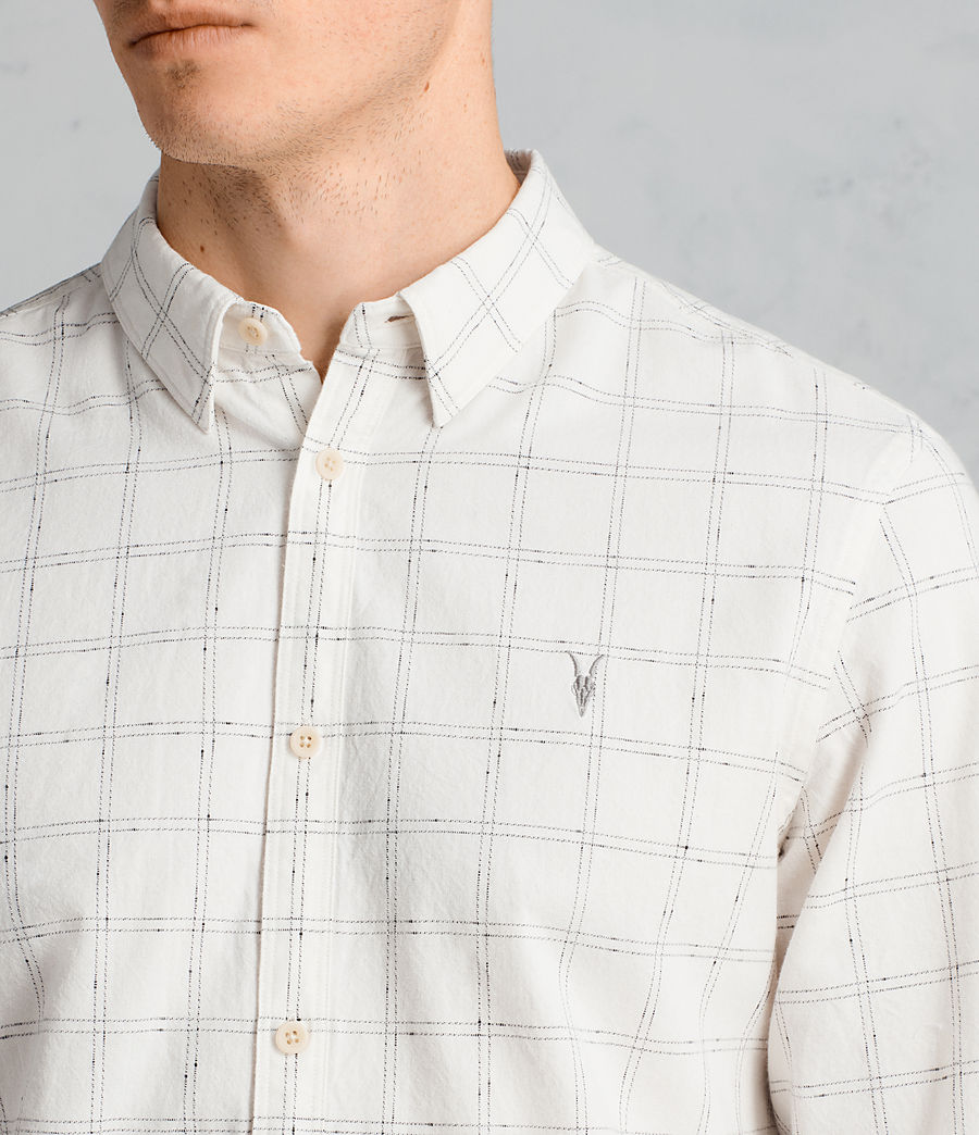 Hombre Camisa Rowhill (Chalk White) - Image 2