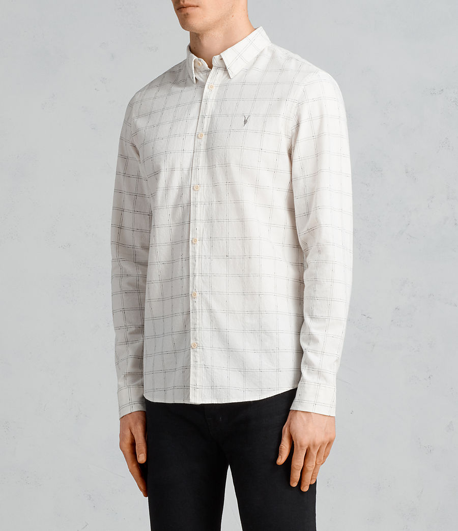 Men's Rowhill Shirt (chalk_white) - Image 3